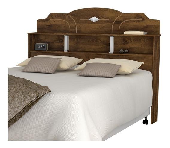 Cabeceira de cama Loja DoceLar Estrela Casal 140cm x 122cm malbec