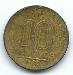 Moeda 10 Centavos 1946 Jose Bonifacio Lote 58