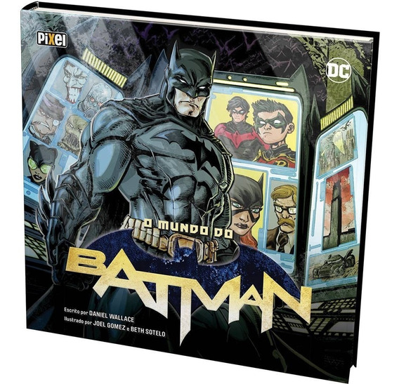 Livro - O Mundo Do Batman - Lacrado - Envio Rápido