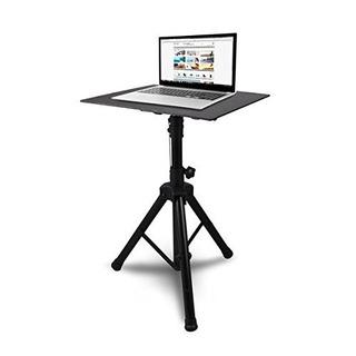 Pyle Pro Dj Laptop Stand, Soporte De Proyector, Soporte Ajus