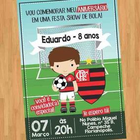 Arte Convite Digital Virtual Flamengo
