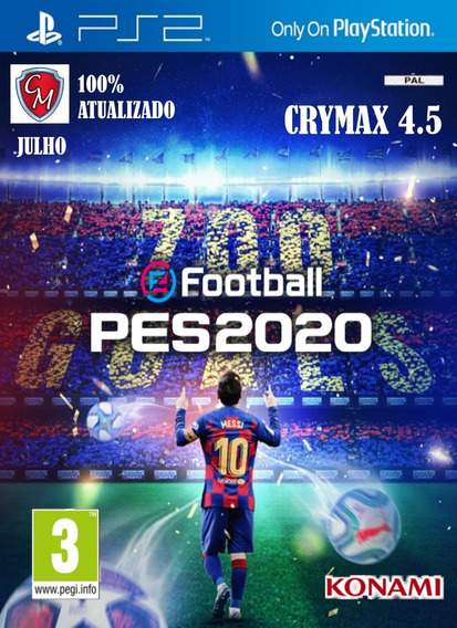 Patch Pes Crymax 4.5 2020 Ps2