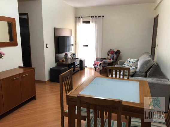 Apartamento Com 2 Dormitórios À Venda, 64 M² Por R$ 395.000,00 - Nova Gerti - São Caetano Do Sul/sp - Ap0906