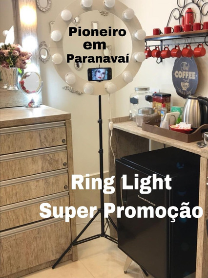 Ring Light+ 12 Lampadas D 9 Watts + 12 S Juros + F Gratis