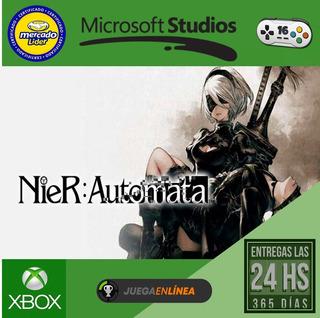 Nier Automata - Xbox One Modo Local + En Linea