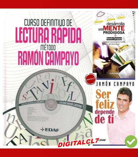 Curso Definitivo De Lectura Rapida - Ramon Campayo + 2 L