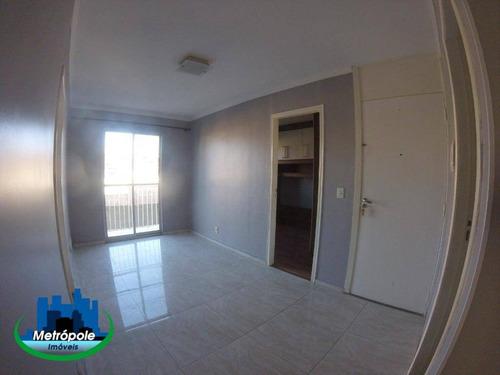 Apartamento Com 3 Dormitórios, 55 M² - Venda Por R$ 210.000,00 Ou Aluguel Por R$ 950,00/mês - Jardim São Domingos - Guarulhos/sp - Ap0065