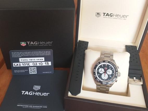Incrível Relógio Tag Heuer F1 Caz101e.ba084 Semi Novo