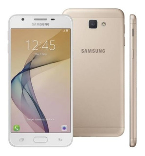 Smartphone Sansung Galaxy J5 Prime Dourado Vitrine +brinde