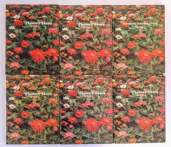 Coleção Completa Plantas E Flores 6 Volumes Frete Grátis