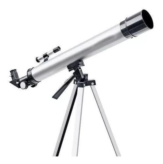 Telescópio Refrator Greika F60050m + Tripé E Acessórios