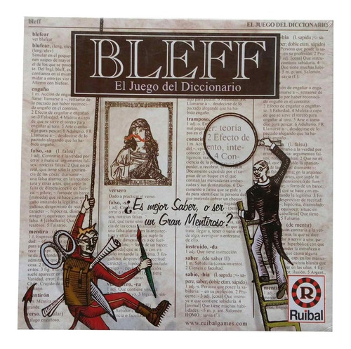 Bleff Juego De Mesa Ruibal Original Microcentro Lelab