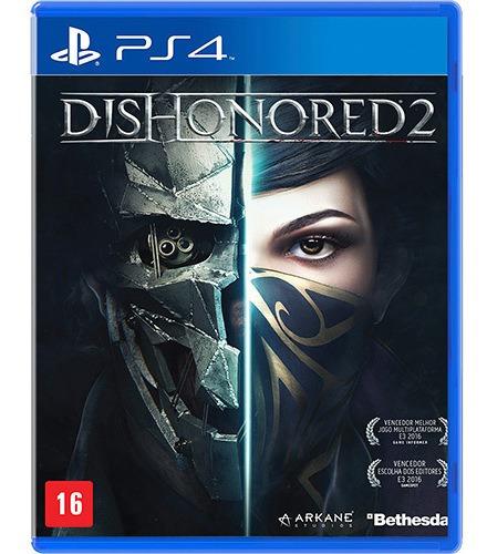 Jogo Dishonored 2 Ps4 Mídia Física | Vitrine