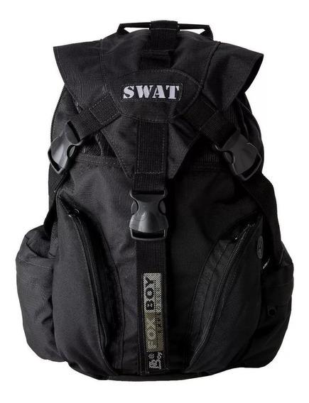 Mochila Tatica Swat Rip Stop Militar Reforçada Fox Boy