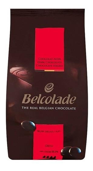 Chocolate Belcolade Semi Amargo 1 Kg