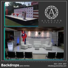 Alquiler De Backing Y Escenografías Para Eventos