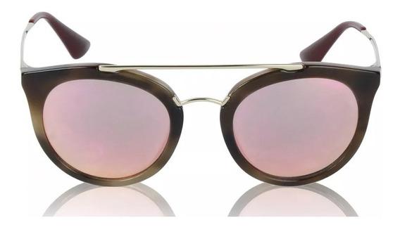 Óculos Prada Espelhado Rose Prada