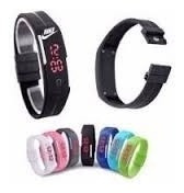 Kit 25 Relógios Pulseira Nike Digital Led