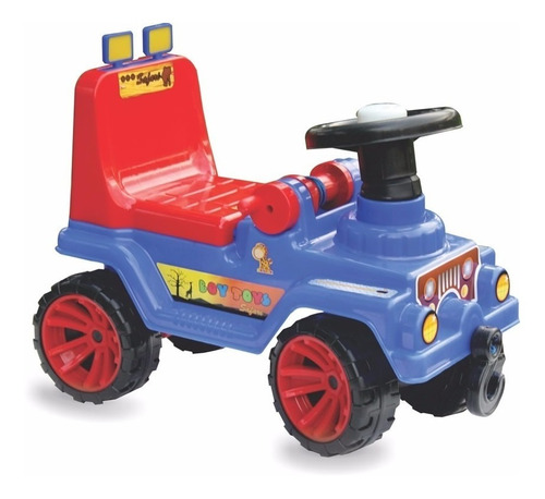Carro Montable Jeep 4 Ruedas 100% Original Boy Toys