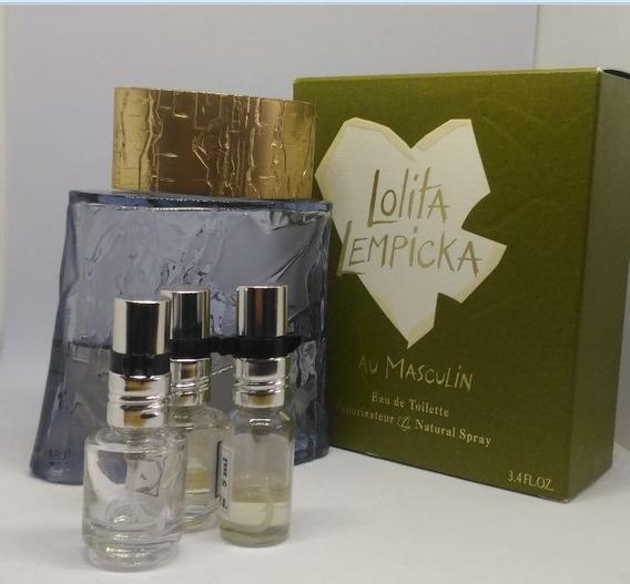 Amostra Decant Perfume Masculino Au Masculin Frasco 5ml