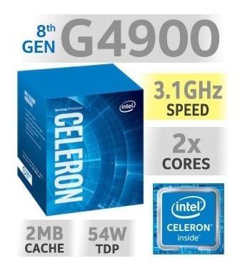 Processador Intel Celeron G4900 3.1ghz 2mb 1151 8º Geração