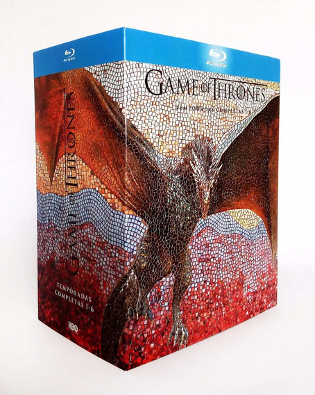 Game Of Thrones Juego Tronos Temporadas 1 2 3 4 5 6 Blu-ray