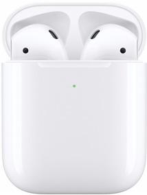Apple - AirPods Com Case De Carregamento Sem Fio 2ª Geração