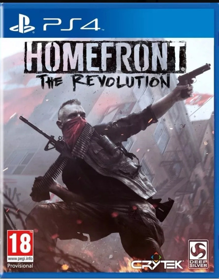 Homefront The Revolution Ps4 Midia Fisica Novo Lacrado