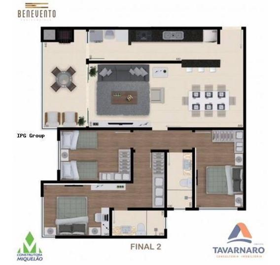 Apartamento Para Venda Em Ponta Grossa, Centro, 2 Dormitórios - Ap0461-ta_1-1103829