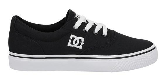 Tênis Dc Shoes New Flash 2 Tx Masculino - Preto E Branco