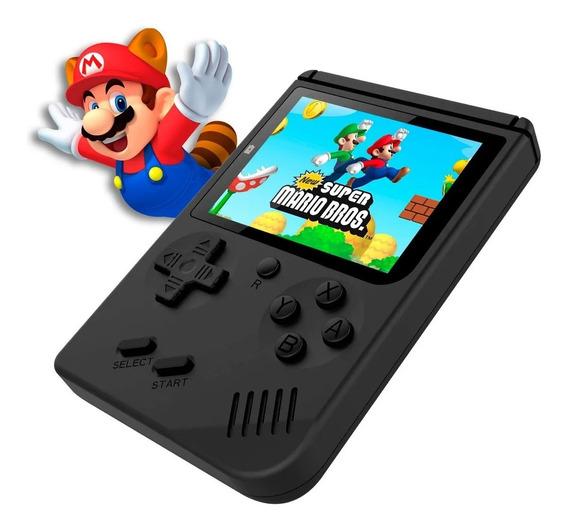 Mini Vídeo Game Portátil 400 Jogos Clássicos Cabo Av