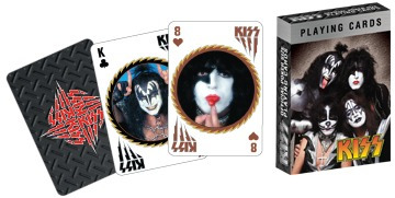 Kiss - Cartas De Poker - Produto Oficial - Jeu De Cartes