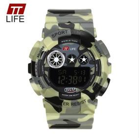 Relógio Masculino 100% Camuflado Prova D