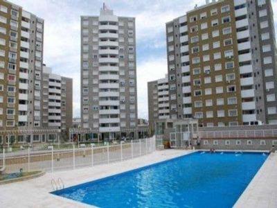 Villasol, Excelente Depto. De 1 Dorm. En Torre Vip C/balcón Y Asador, C/renta !