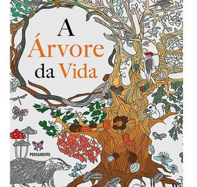 Livro De Colorir Adulto - A Árvore Da Vida 1ª Edição