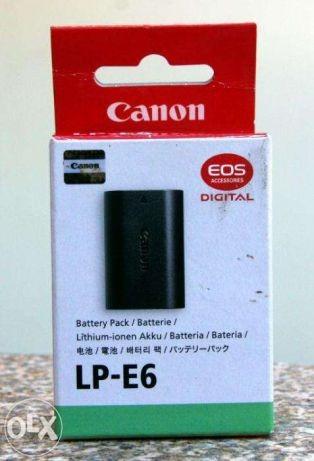 6 Bateria Para Canon Lp-e6 Câmera Eos 5d Mark Lii 60d 7d
