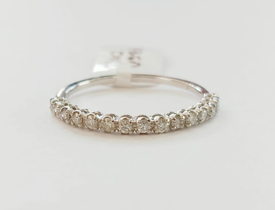 Anillo Churumbela 14k Oro Blanco Diamante Dama Regalo