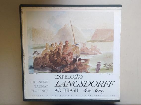 Livro Expedicao Langsdorff Ao Brasil 1821 1829 3 Volumes