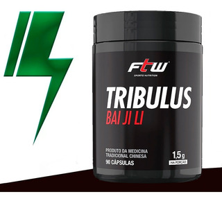 Tribulus - Bai Ji Li - 90 Capsulas - Ftw