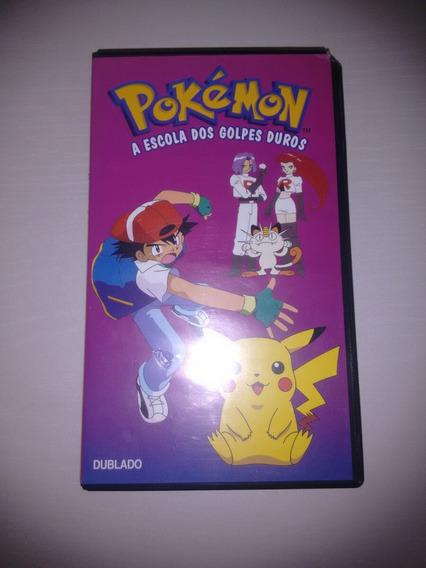 Fita P Vídeo Cassette/vhs Pokémon A Escolha Dos Golpes Duros