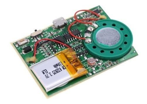 Gravador 4m Tipo Carta Com Sensor Ou Toque Recarregavel