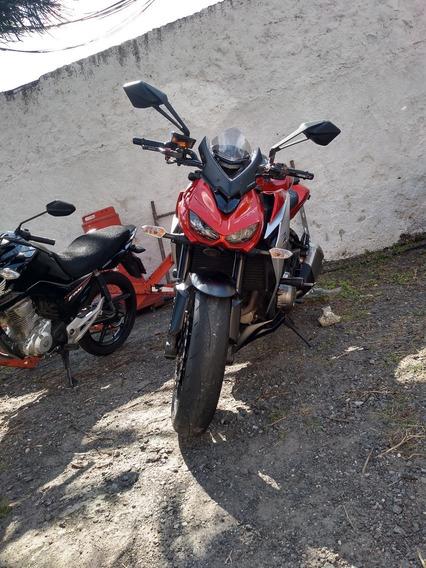 Kawasaki Z 1000 - Laranja, Ano 2014/2015 Pouco Usada