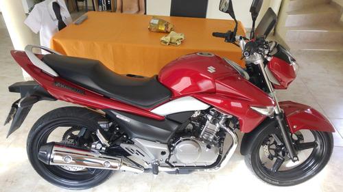 Suzuki Inazuma 250 Gw - Impecable!! Alarma! Digna De Ver!!