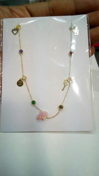 Collar En Oro De 14 K