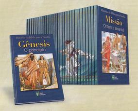 Coleção Histórias Da Bíblia Para A Família (30 Volumes)