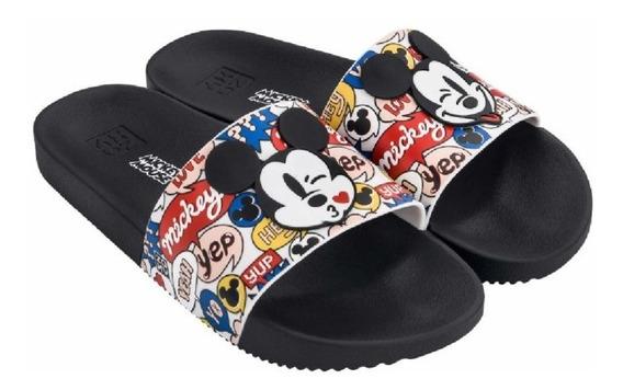 Chinelo Feminino Zaxy Pop Slide Mickey