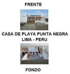 Casa Playa Punta Negra Playa El Revés