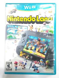 Juego Wiiu Nintendo Land