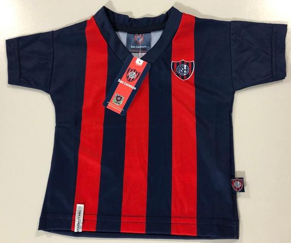 Nueva Camiseta Remera De Bebe San Lorenzo Producto Oficial