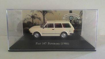 Miniatura Carro Inesqueciveis Fiat 147 Panorama 1980